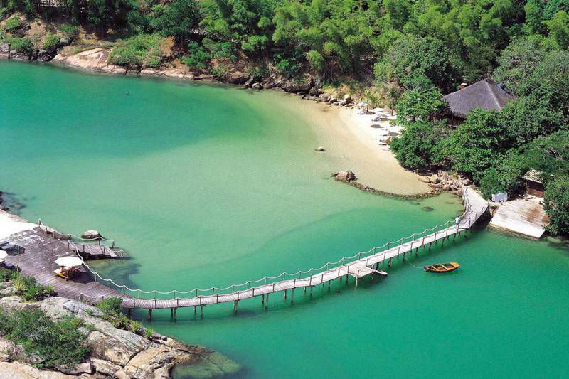 Beispiel: Ponta dos Ganchos, Foto: gateway-brazil.