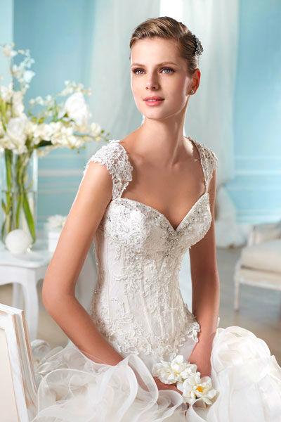 Beispiel: Hochzeitsmode, Foto: Mery's Couture Bad Ragaz.