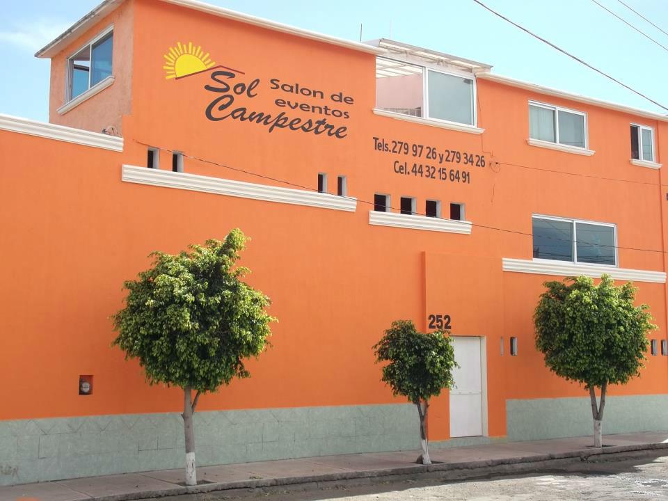 Salón de eventos Sol Campestre