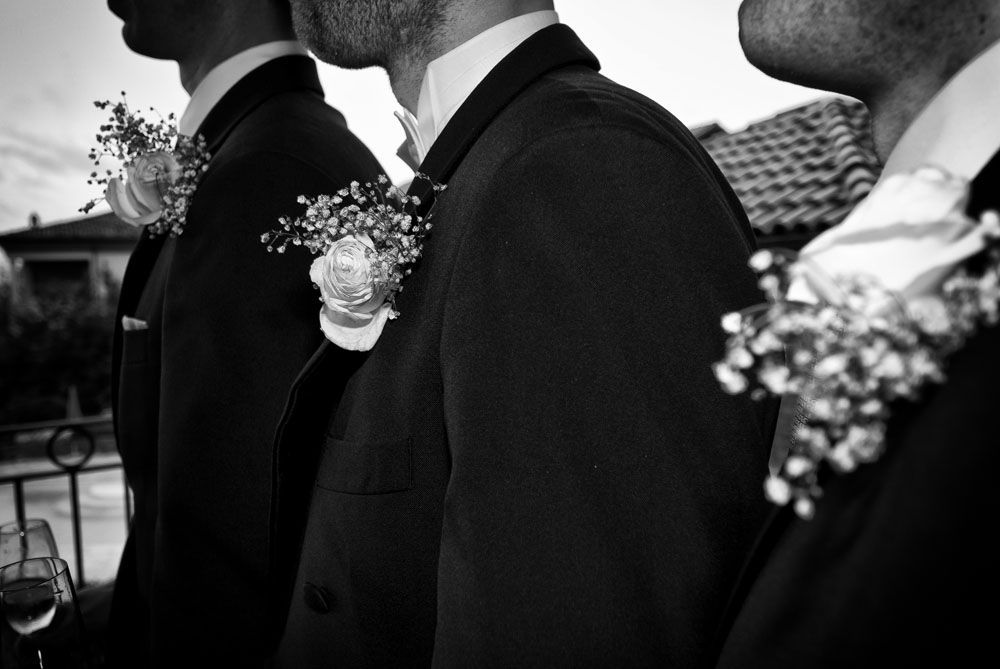 particolare testimoni Fotografo matrimonio torino