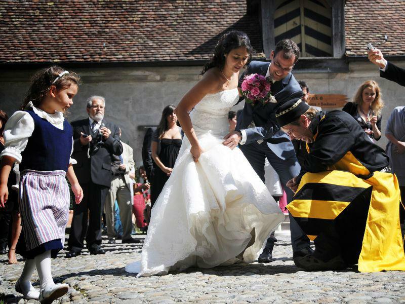 Beispiel: Ihr Hochzeit auf der Waldurg, Foto: Fürstliche Waldburg.