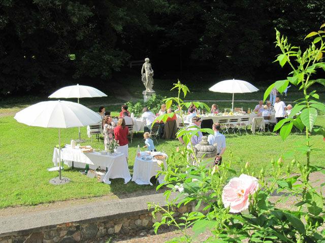 Beispiel: Garten, Foto: Schloss Blankensee.