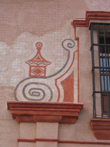 Detalle fachada Hacienda Molinillos