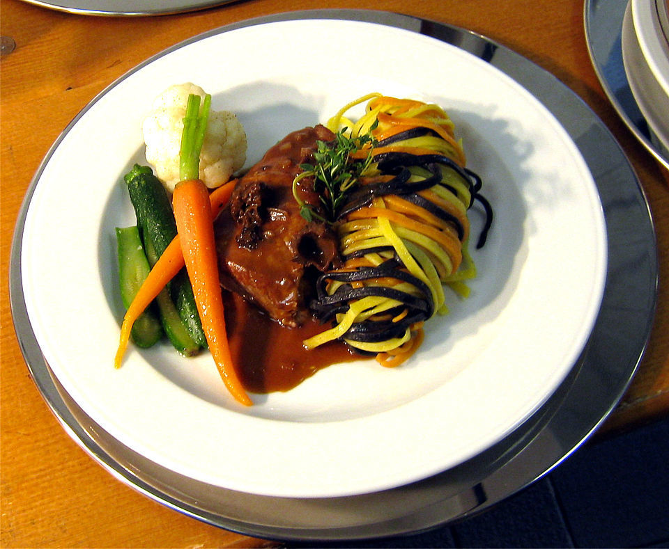 Beispiel: Leckere Menüs, Foto: Stiftl Catering und Events.