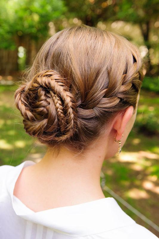 #recogidoMargot by Marieta Hairstyle Foto Érase una vez