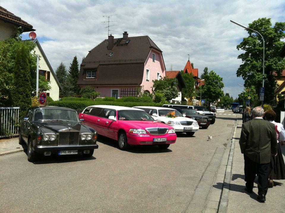 Beispiel: Limousinen Auswahl, Foto: MK- Limousinen München.
