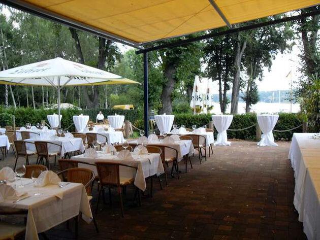 Beispiel: Aussenterasse, Foto: Casa Italiana Da Alberto.