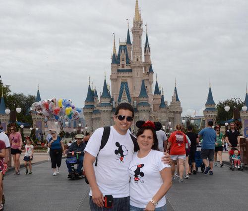 Un viaje soñado, en los parques tematicos de Disney.