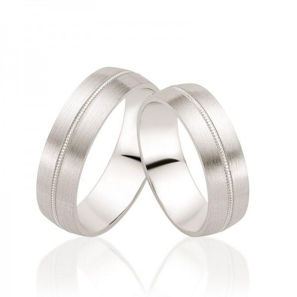Beispiel: Trauringe - Weissgold, Foto: Juwelier Goldfee.