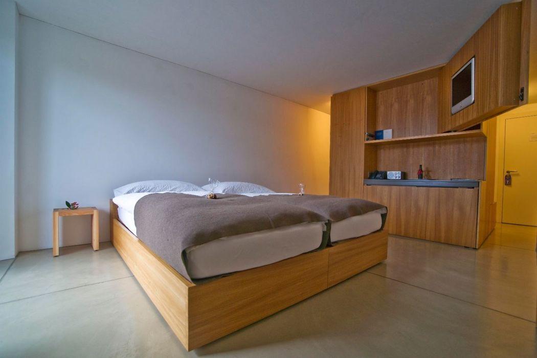 Beispiel: Hotelzimmer, Foto: Kartause Ittingen.