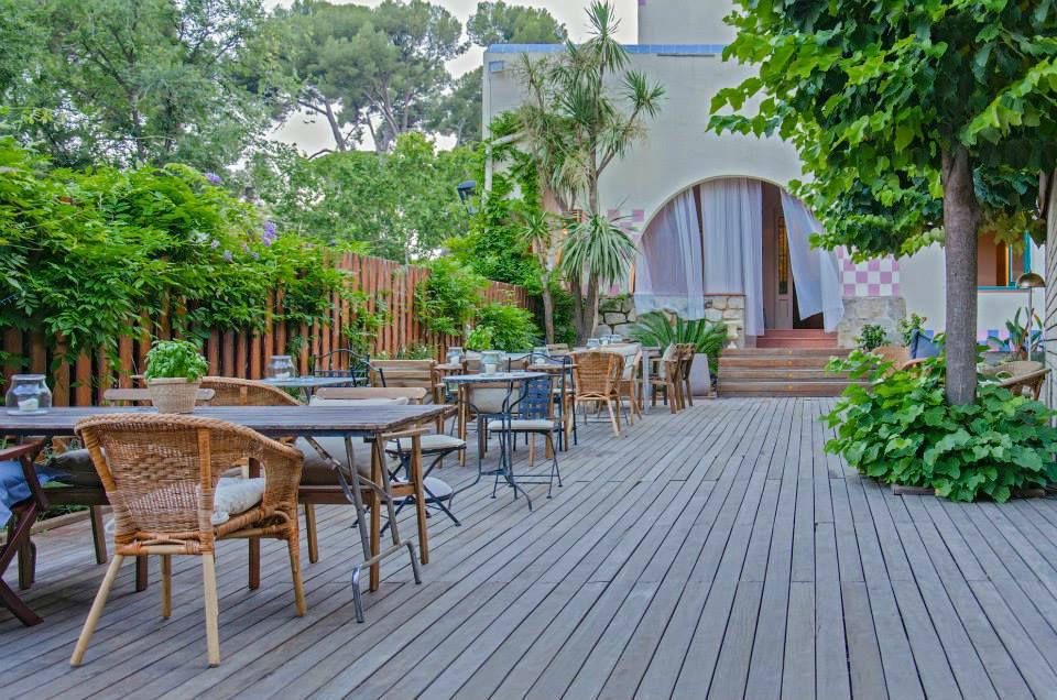 Vista de nuestro Jardín/Terraza.