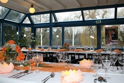 Beispiel: Tischdekoration, Foto: Brauhaus Kühler Krug.