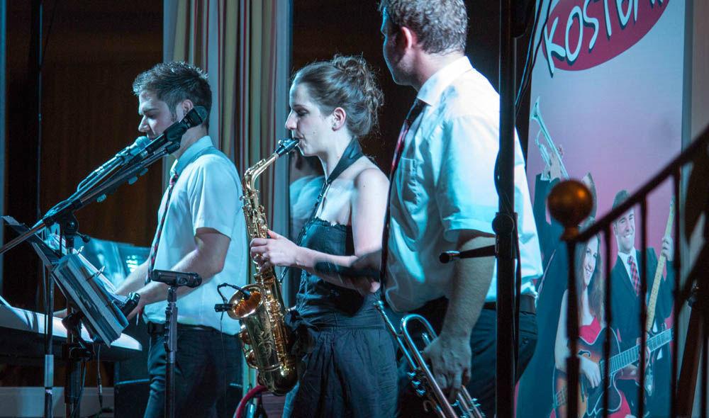 Beispiel: Tanzband Kostbar - Live, Foto: Tanzband Kostbar.
