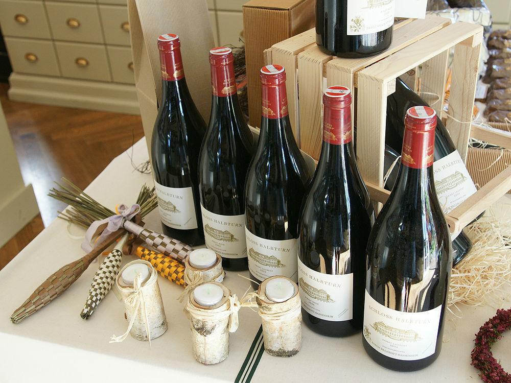 Beispiel: Wein, Foto: Gwandhaus.