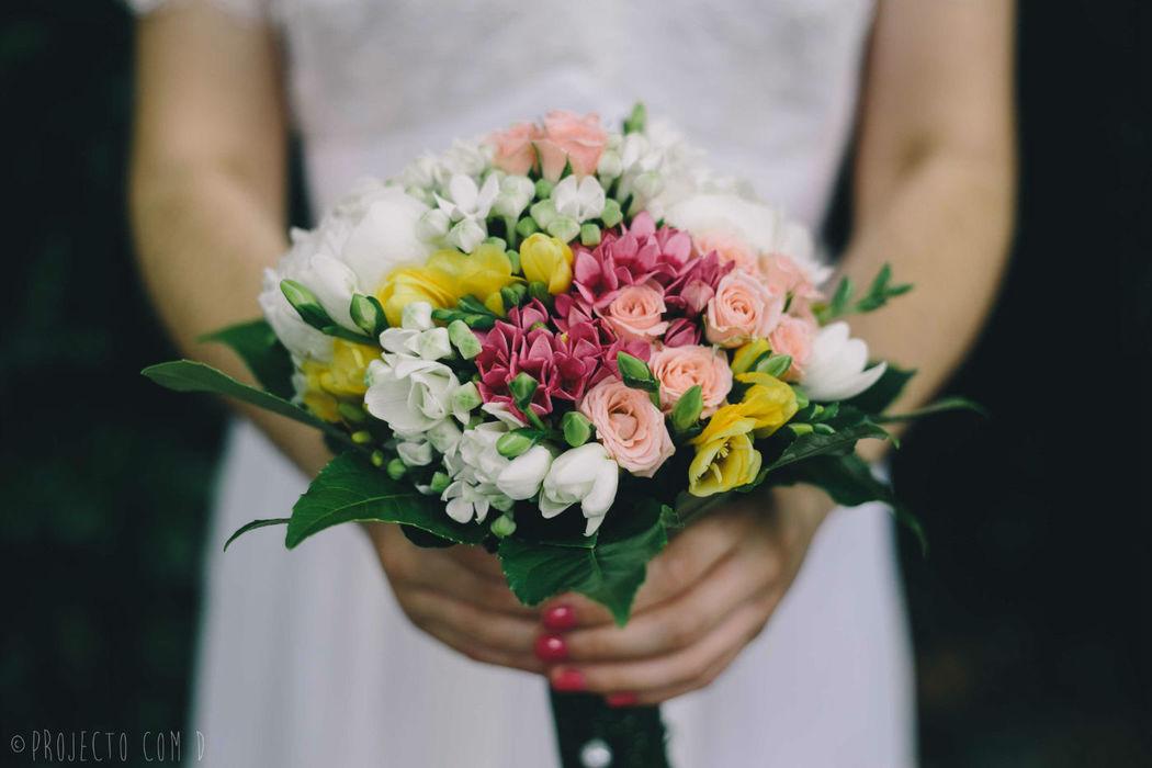 Bouquet Foto por Projecto com D