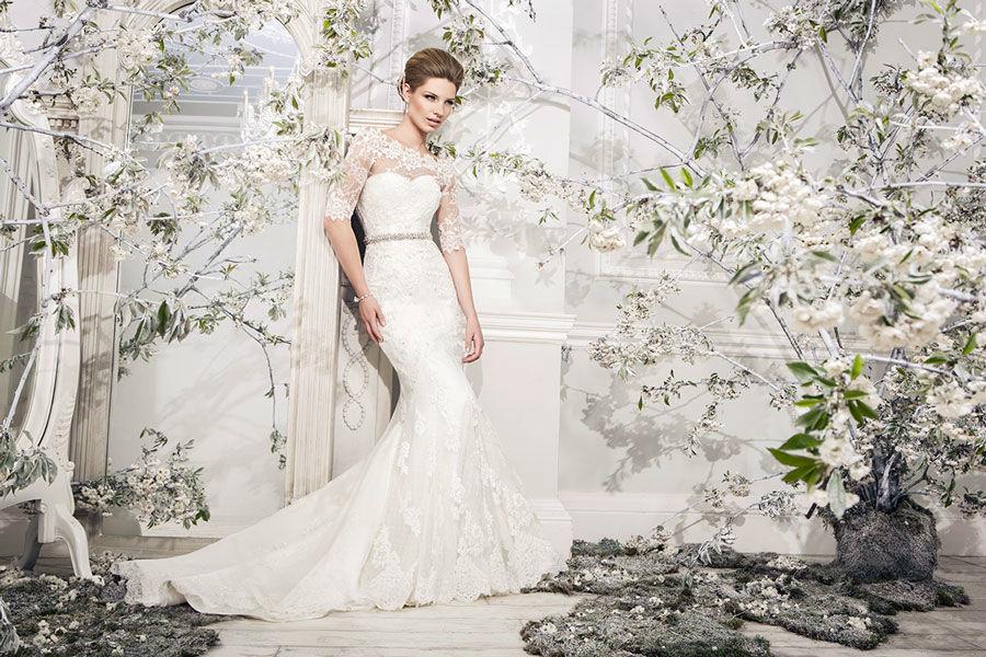 Beispiel: Brautkleider mit Stil, Foto: Mery's Couture Bad Ragaz.