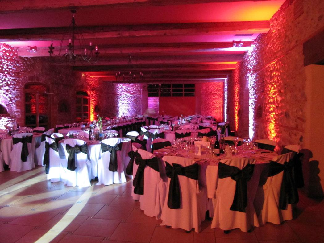 Déco pour réception de mariage, Catalan Events