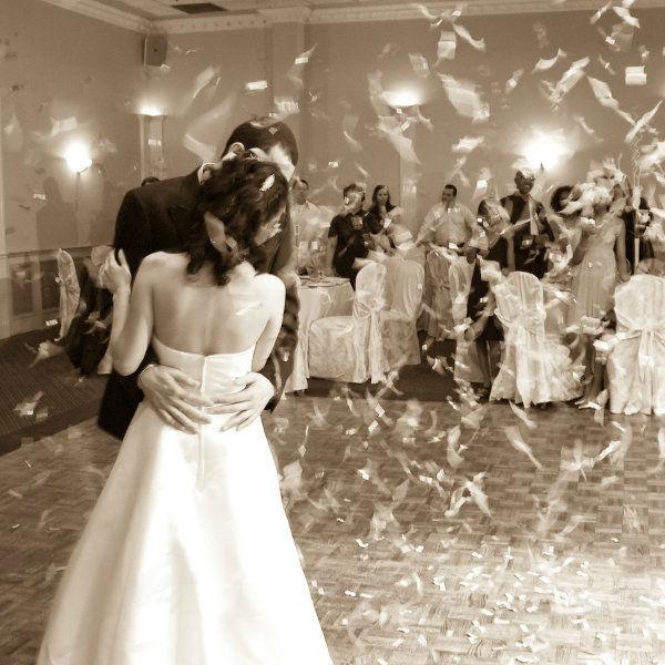 Beispiel: Ihr romantischer Hochzeitstanz,Video: DJ Wilson.