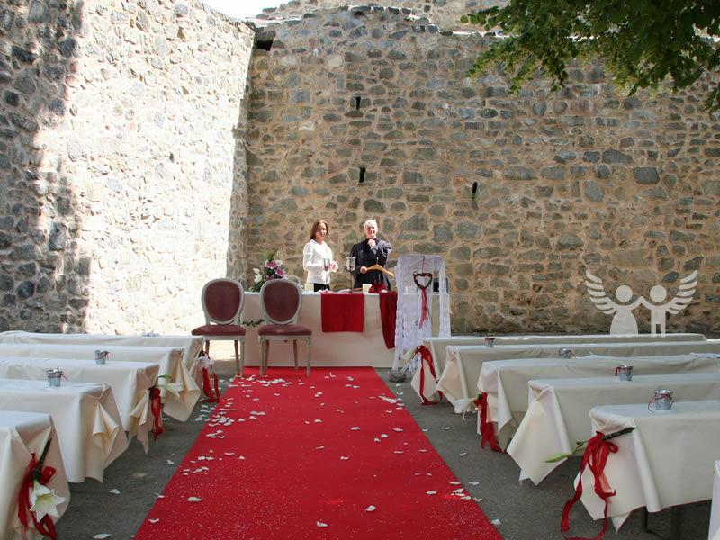 Beispiel: Heiraten unter freiem Himmel?, Foto: Die Engel der Hochzeit.