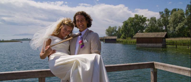 Beispiel: Hochzeit im Seehof, Foto: Hotel Seehof Herrsching.