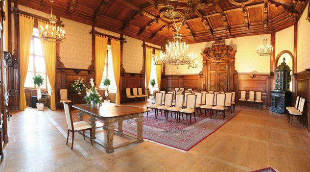 Beispiel: Innenbereich, Foto: Romantik Hotel Schloss Mondsee.