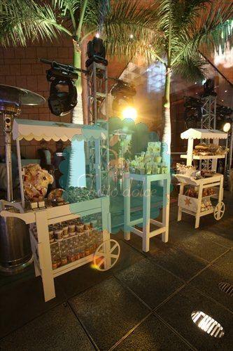 Mesa de dulces y postres para bodas de Tutto dolce
