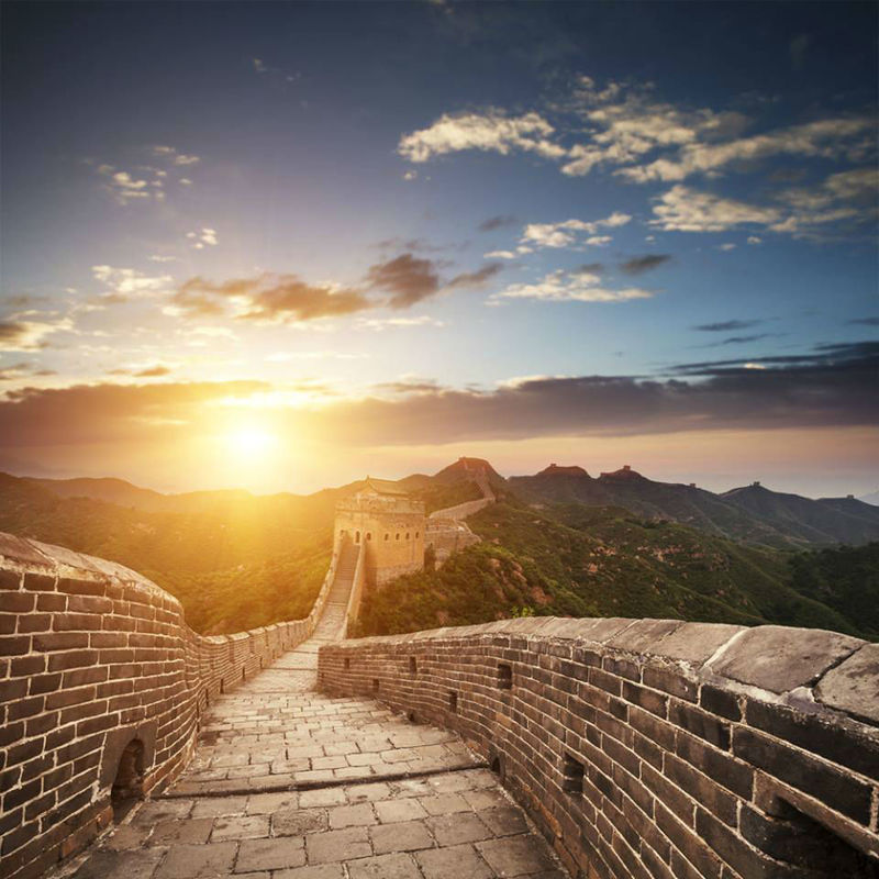 Beispiel: Chinesische Mauer, Foto: FTI Touristik.
