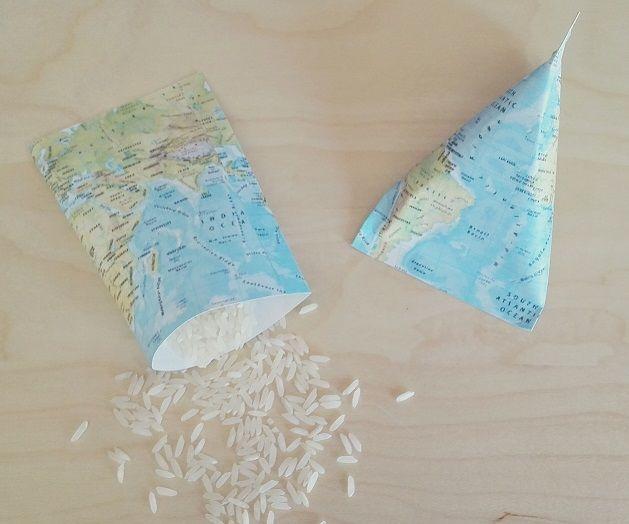 Paquetes para Arroz, Pétalos o Confeti Temática: Viajes (travel)
