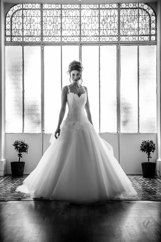 robe PROMESSE TENUE - collection  Mariées de Provence 2017