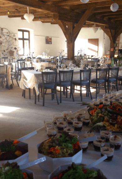 Beispiel: Tischdekoration, Foto: Gut Neuensund.
