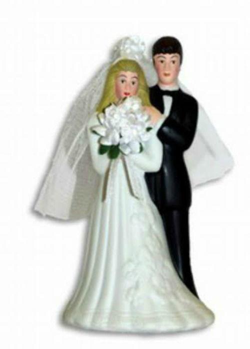 Beispiel: Traditionelles Brautpaar, Foto: Confiserie Bachmann.