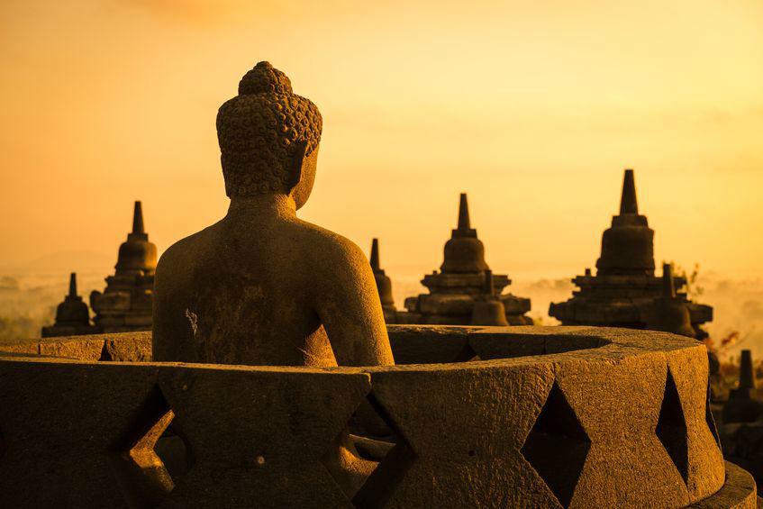 Borobudur - Indonesia en tus manos