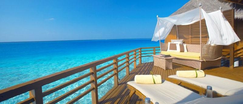 Beispiel: Hotels an exotischen Orten, Foto: Escapio.