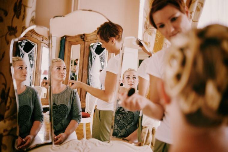 Beispiel: Fotos von den Vorbereitungen, Foto: Schmidt Photography.