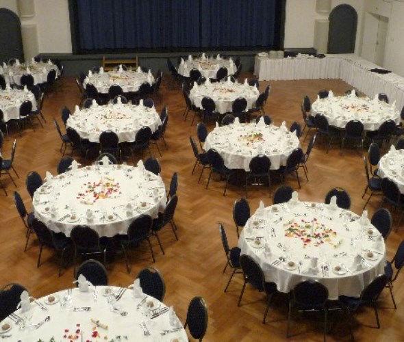 Beispiel: Festsaal, Foto: Die Perle.