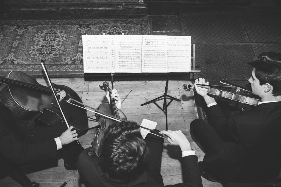 Trío Lírice, música para boda en San Isidoro, Oviedo, Asturias.