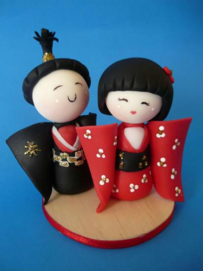 recuerdo de matrimonio japonés