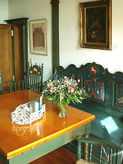 Beispiel: Niedersachesenzimmer, Foto: Schloss Agathenburg.