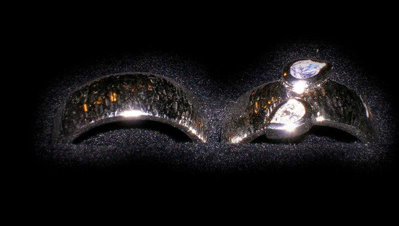 Beispiel: Individuelle Eheringe, Foto: Meistergoldschmiede Silver & Gold.
