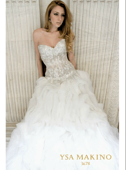 Vestidos de novia - Foto Ysa Makino