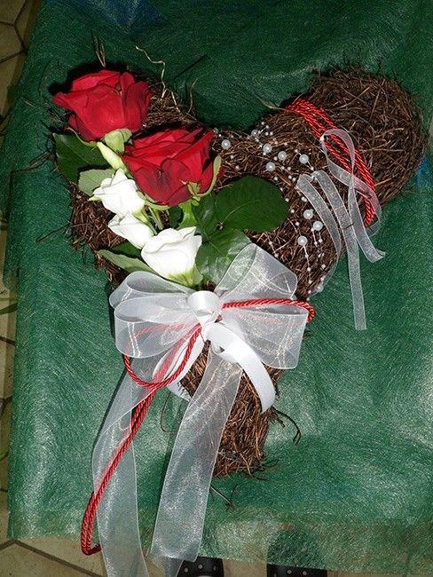 Beispiel: Origineller Brautstrauss, Foto: Blumen Katja Lang.