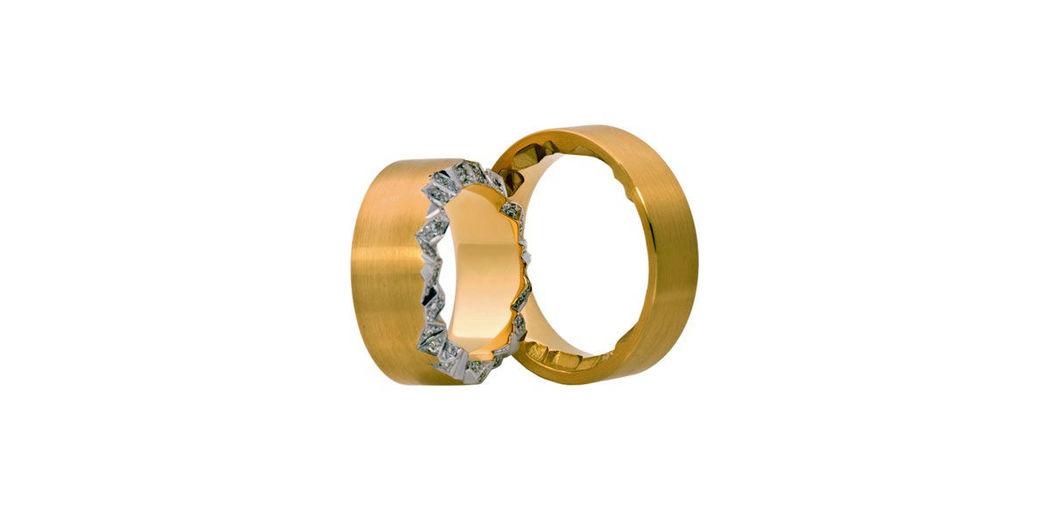 Beispiel: Ringe die zu Ihnen passen, Foto: Juwelier Schlund.
