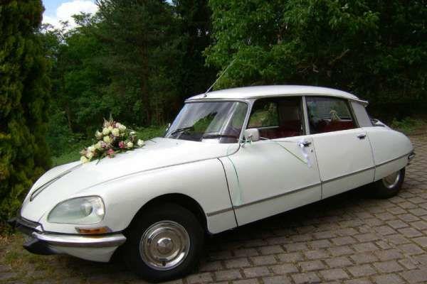 Der CITROËN DS - DER Hochzeitsoldtimer! Foto: Hochzeitsautos Berlin.
