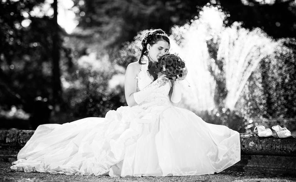 Beispiel: Portrait der Braut, Foto: Simon Lütolf Photography.
