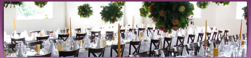 Beispiel: Hochzeitstafel, Foto: Cateringkultur.