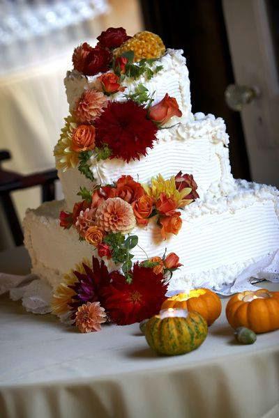 Beispiel: Hochzeitstorte, Foto: Hochzeitsplaner München.