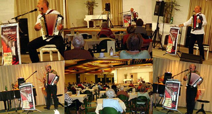 Beispiel: Seniorenmusik Foto: Alleinunterhalter Norbert Schindlegger.
