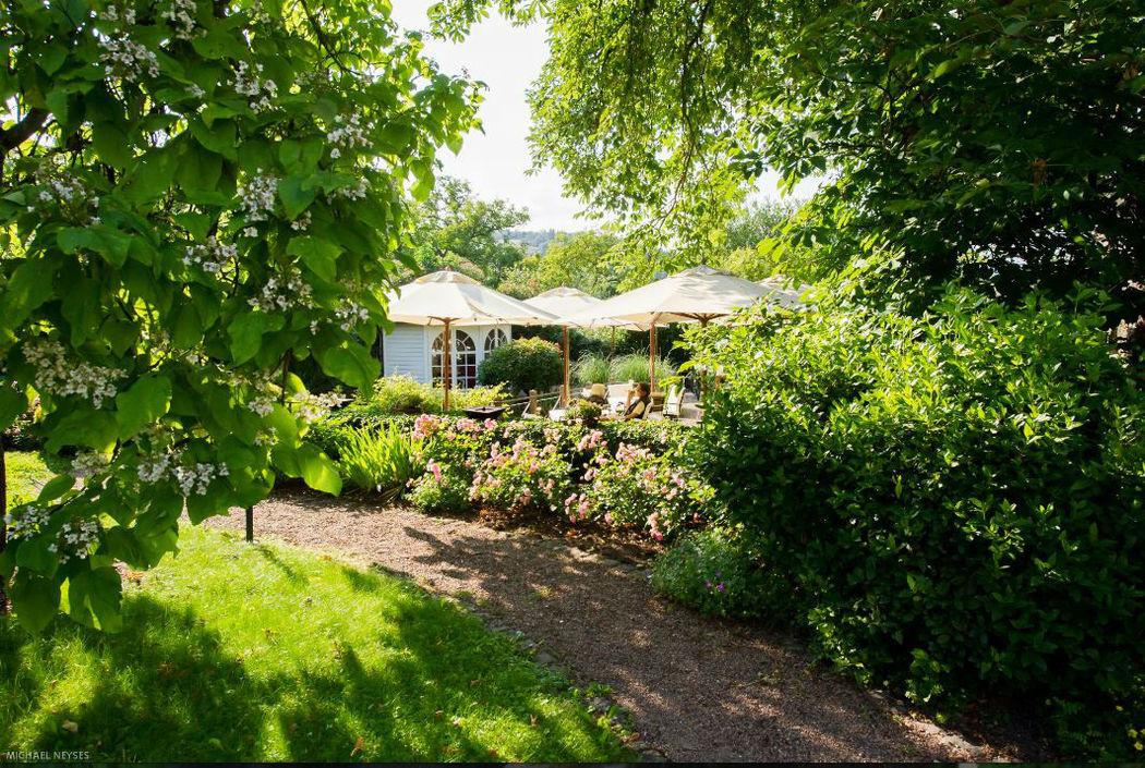Beispiel: Gartenanlage, Foto: Weinromantikhotel Richtershof.