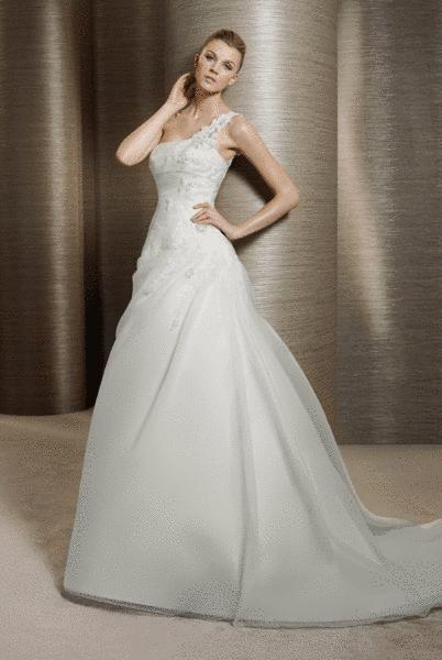 Beispiel: Brautmode mit Stil, Foto: Braut-Atelier 09.