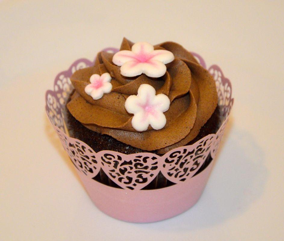 Cupcakes para ti! Cupcakes de Chocolate y Baileys para Boda